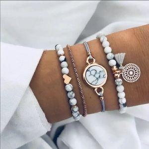 5PC BOHO Bracelet set
